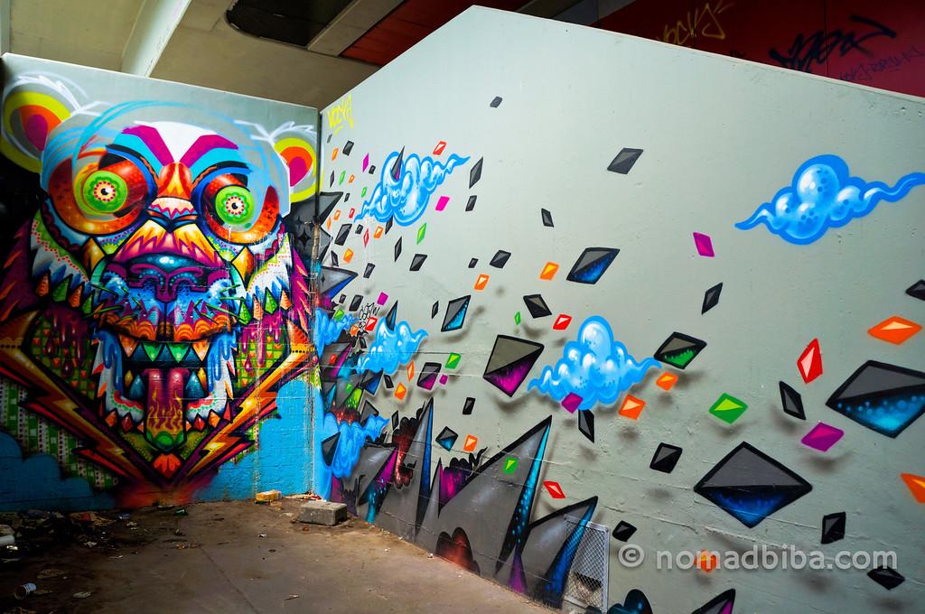 Street art in Turmkunst, Berlin