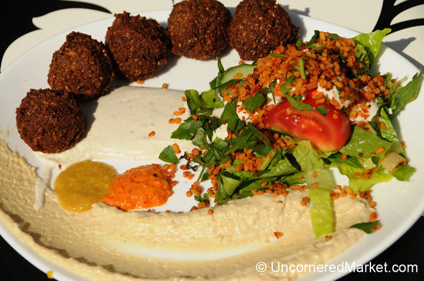 Plate of Falafel in Mitte, Berlin