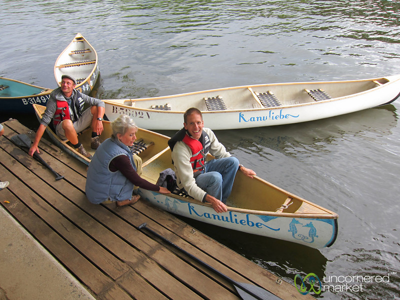 Canoe Tour of Berlin - Treptow
