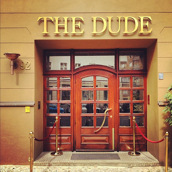 The Dude, a hotel uniquely designed for fans of The Big Lebowski? #Berlin