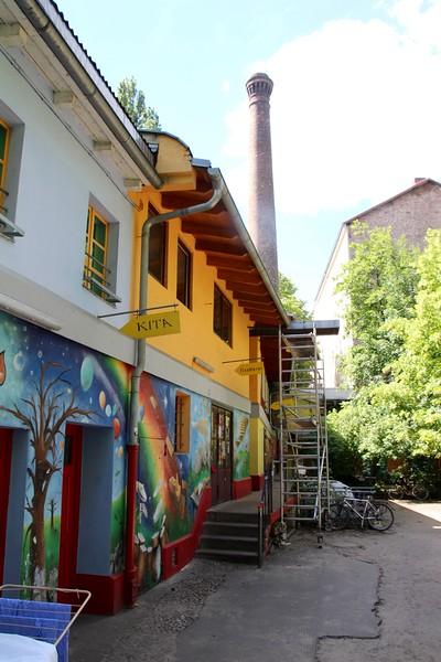 Former Factory, Kreuzberg, Berlin, Germany