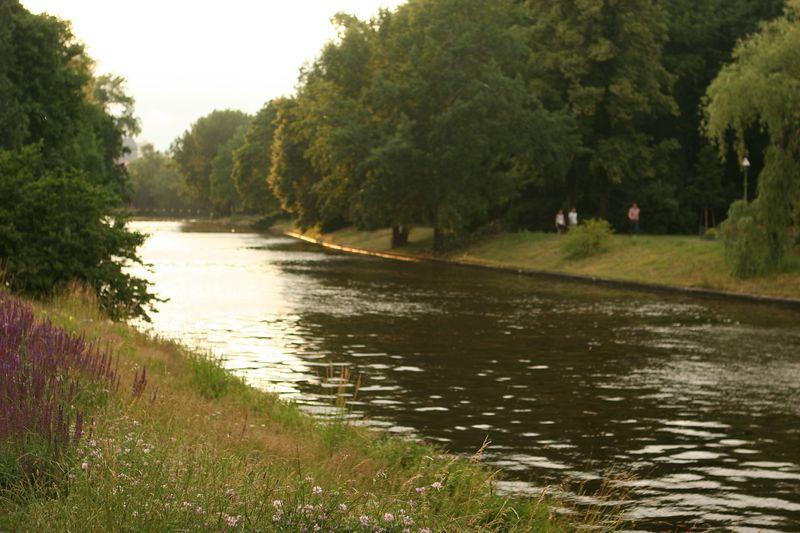 The Spree, in the Tiergarten