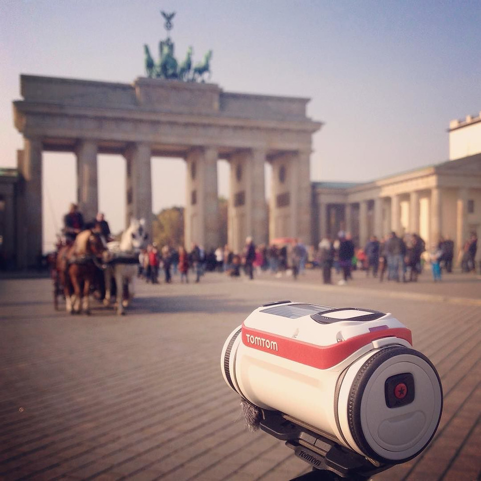 To conquer the vastness of Berlin, explore it by bike. Cycling Berlin is at turns refreshing and sobering, for it helps lay bare the city's endless cycle of creation, destruction and rebirth, its vastness and diversity. Pictured here: Brandenburg Gate, once dividing east and west. To share a little bit of why we love exploring Berlin by bicycle we attached the @TomTomUSA Bandit Action Camera to one of our bikes for the day and rode out to some of our favorite spots in the city — some well known, some not so. Click through to our latest post (link in bio) to see the full video. #TomTomBandit #MyBanditAdventure via Instagram http://ift.tt/1O7t3dr