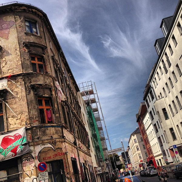 Berlin, two sides of the street, two sides of the story. Which side do you prefer?