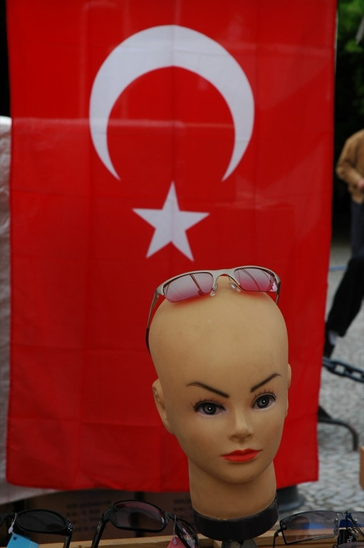Sunglasses and Turkish Flag - Berlin, Germany