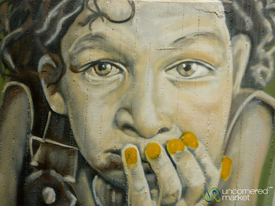 Street Art of Faces - Berlin, Germany