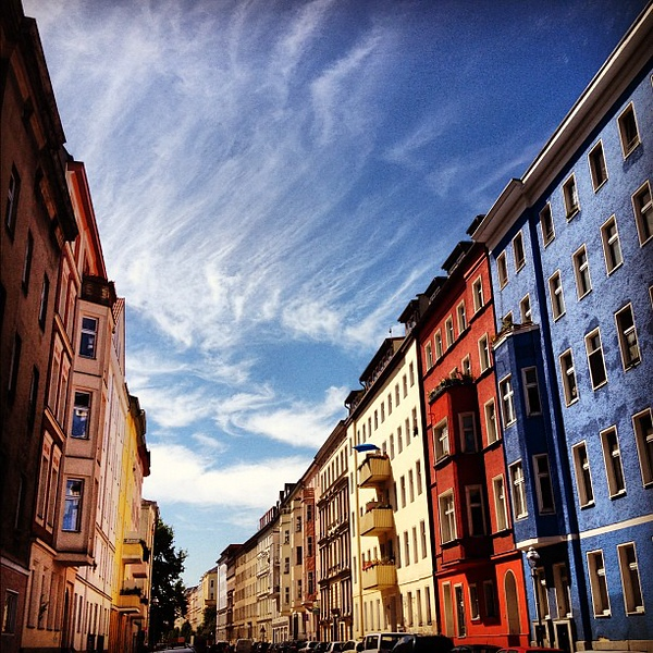 Today's Berlin profile, sunshine and buckets of color