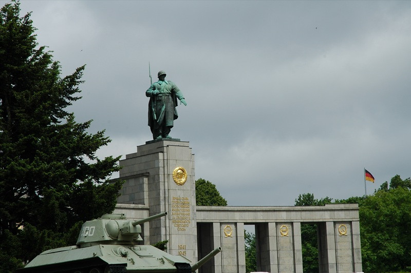 Memorial to the Soviet Soldiers - Berlin, Germany