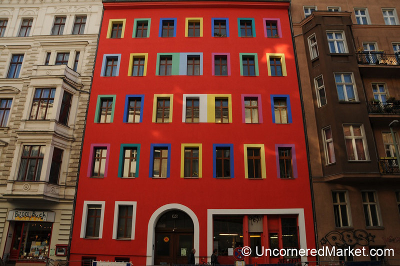 Colorful Berlin Architectural Stock