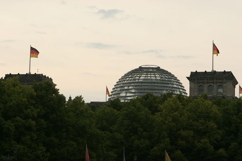 Reichstag -- now the German federal parliament