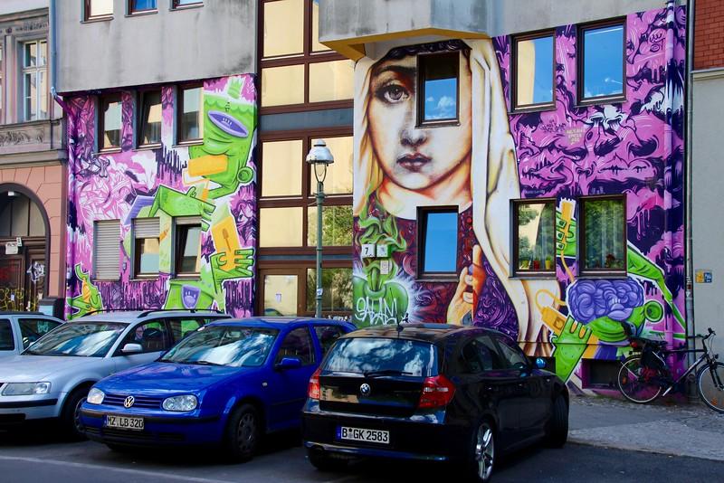 Kreuzberg'deki duvar resmi