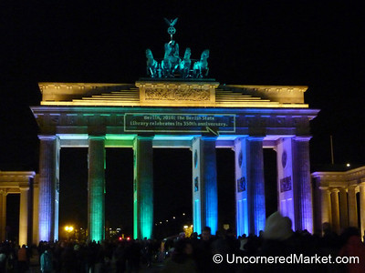 Brandenburg Gate in Colors - Berlin, Germany