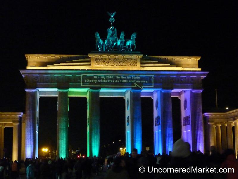 Brandenburg Gate in Colors - Berlin, Germany
