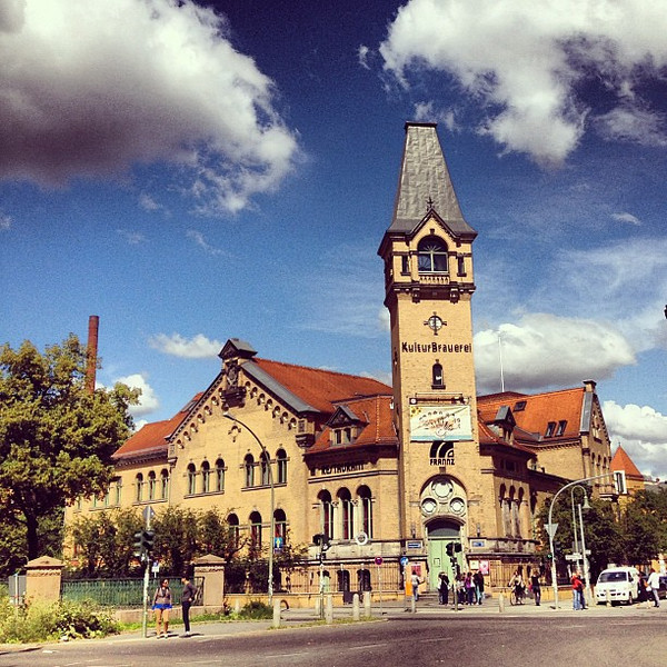 The Culture Brewery (Kulturbrauerei), a taste of industrial beer architecture in #Berlin