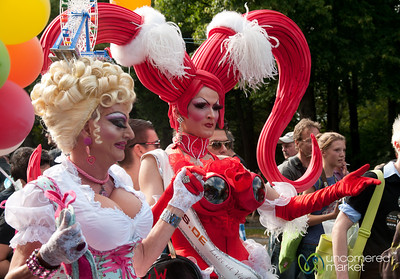 Costumes at Christopher Street Day Parade - Berlin, Germany