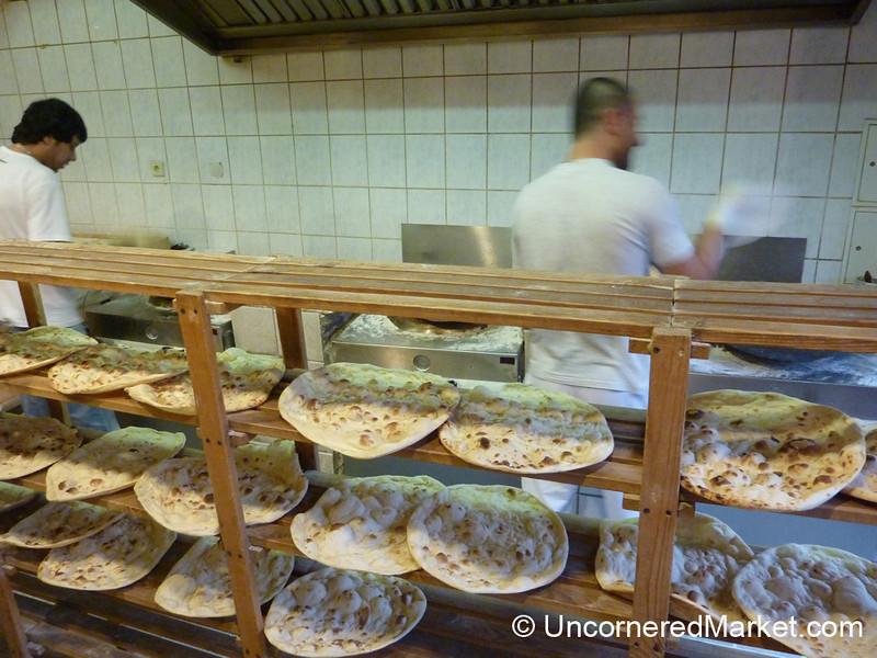 Turkish Flatbread Baked in a Tandoor Oven - Kreuzberg, Berlin