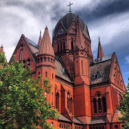 Heilig-Kreuz Kirche, Holy Cross Church, #Berlin