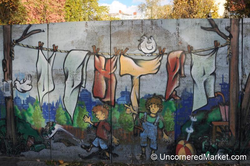 Neighborhood Street Art - Berlin, Germany