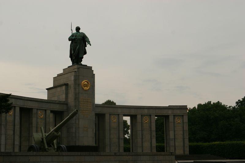 The Soviet Memorial, near the Tiergarten