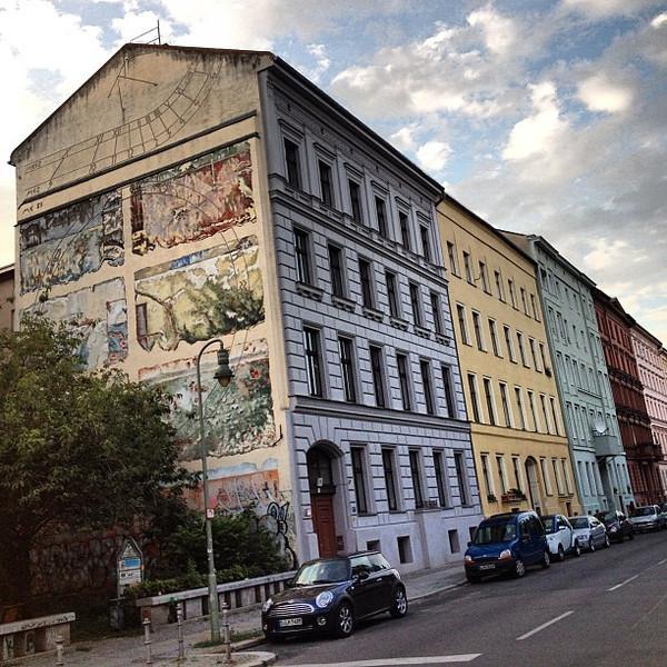 In Berlin, you must look up #streetart #Kreuzberg