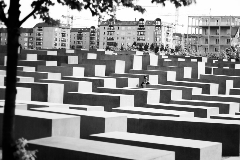 Holocaust Memorial. June 2013