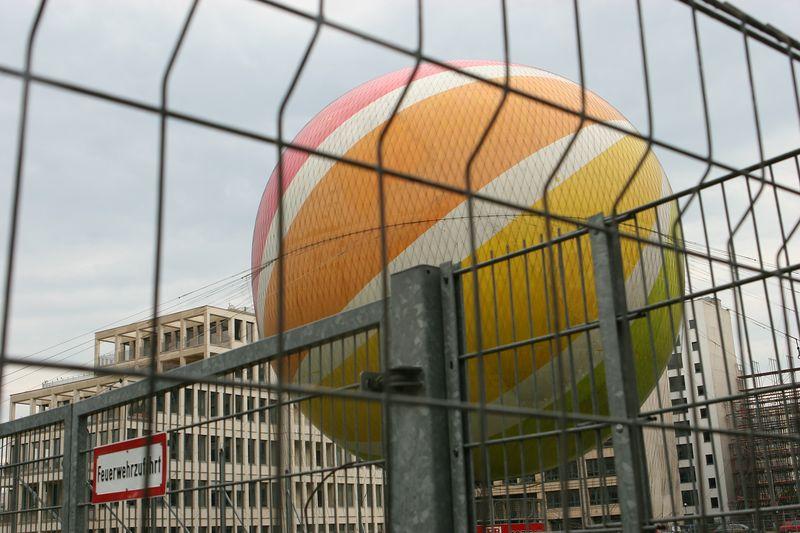 Hot air balloon, Berlin