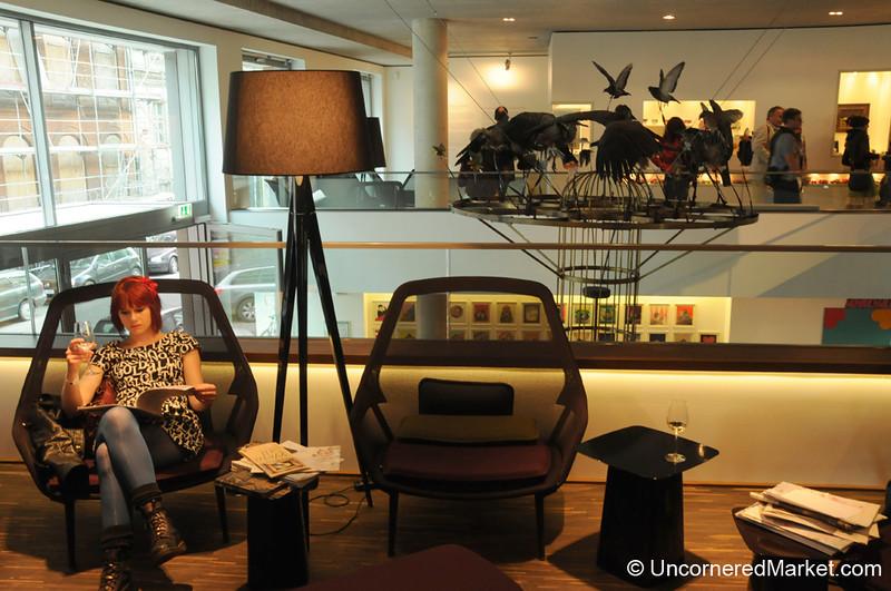 Contemporary Art and German Wines - Berlin