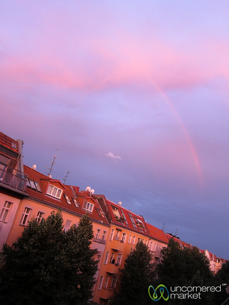 Rainbow over Neukölln - Berlin, Germany