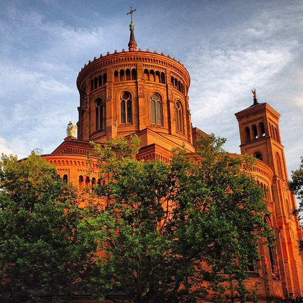 St. Thomas in soft light, Kreuzberg #Berlin