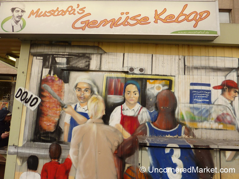 Creative Painting at Mustafa's Gemüse Kebab - Berlin, Germany