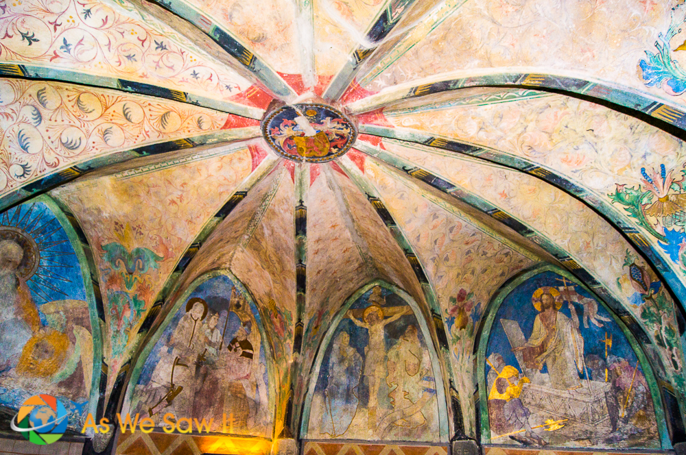 Chapel in Marksburg, Castle.