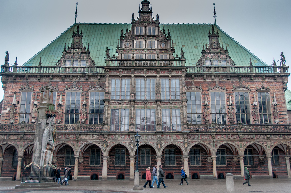 UNESCO World Heritage Site #207: Town Hall and Roland on the Marketplace of Bremen
