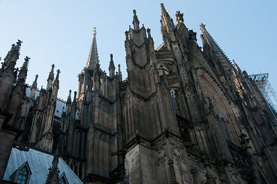 Details of architecture in Cologne Cathedral - Cologne, German