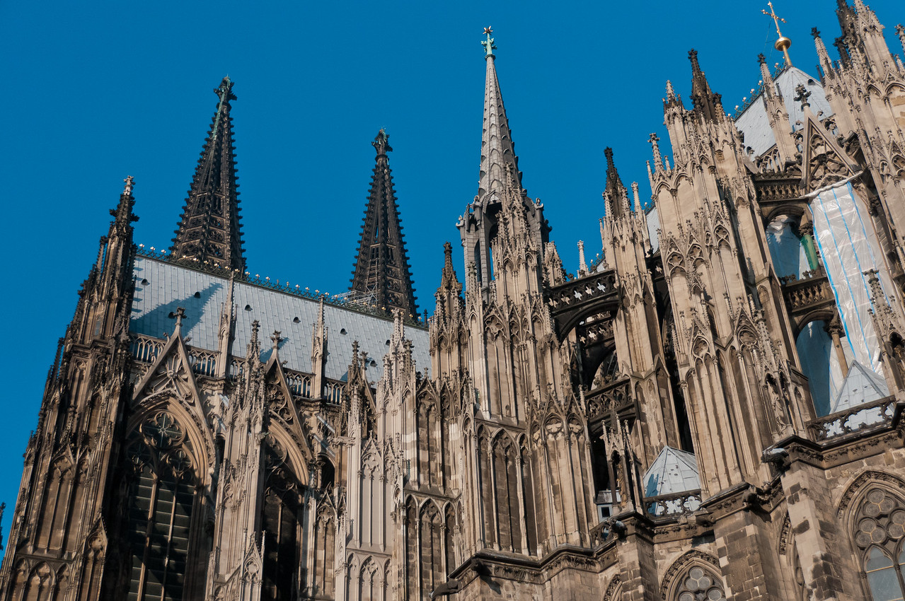 The towers of Cologne Cathedral - Cologne, Germany