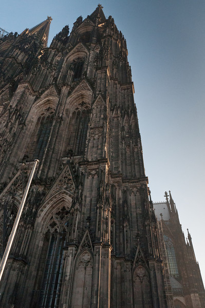 Beautiful architecture in Cologne Cathedral in Germany