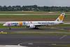 """D-ABON Boeing 757-330 c/n 29023 Dusseldorf/EDDL/DUS 19-07-09 """"Wir lieben Fliegen"""""""