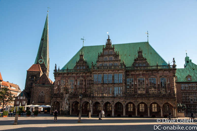 Ornate building in Bremen