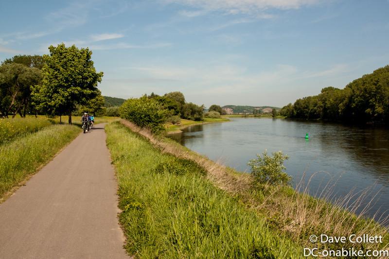 Elbe cyclepath