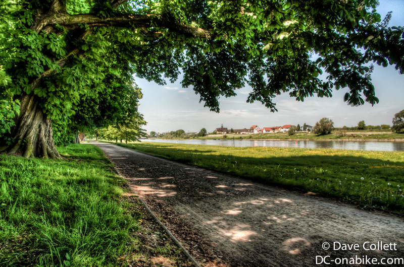 HDR of the riverside