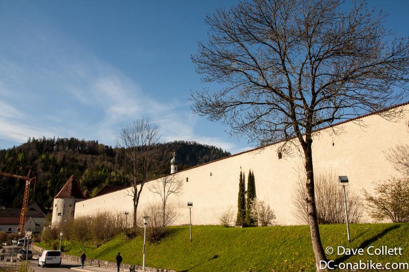 Wall in Fussen