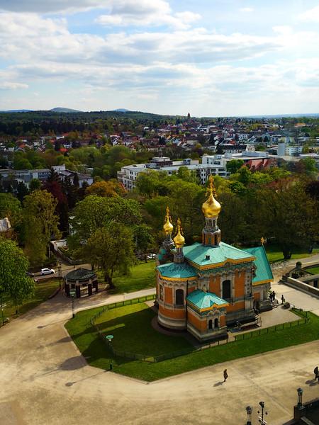 Darmstadt Germany, Russian Church