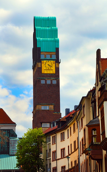 Darmstadt Germany, Wedding Tower, Mathildenhöhe