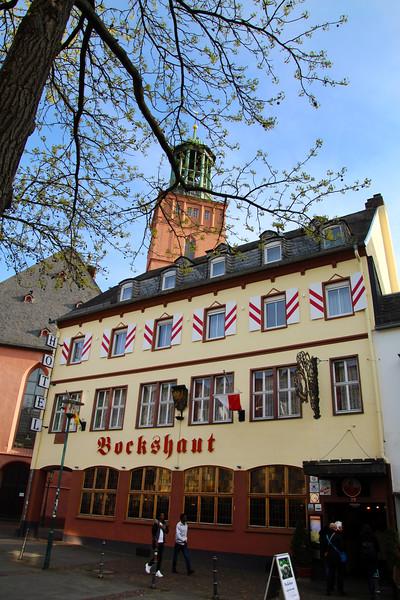 Darmstadt Germany, Restaurant Bockshaut