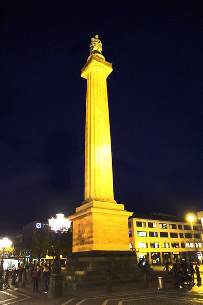 Darmstadt Germany, King Ludwig the First Monument