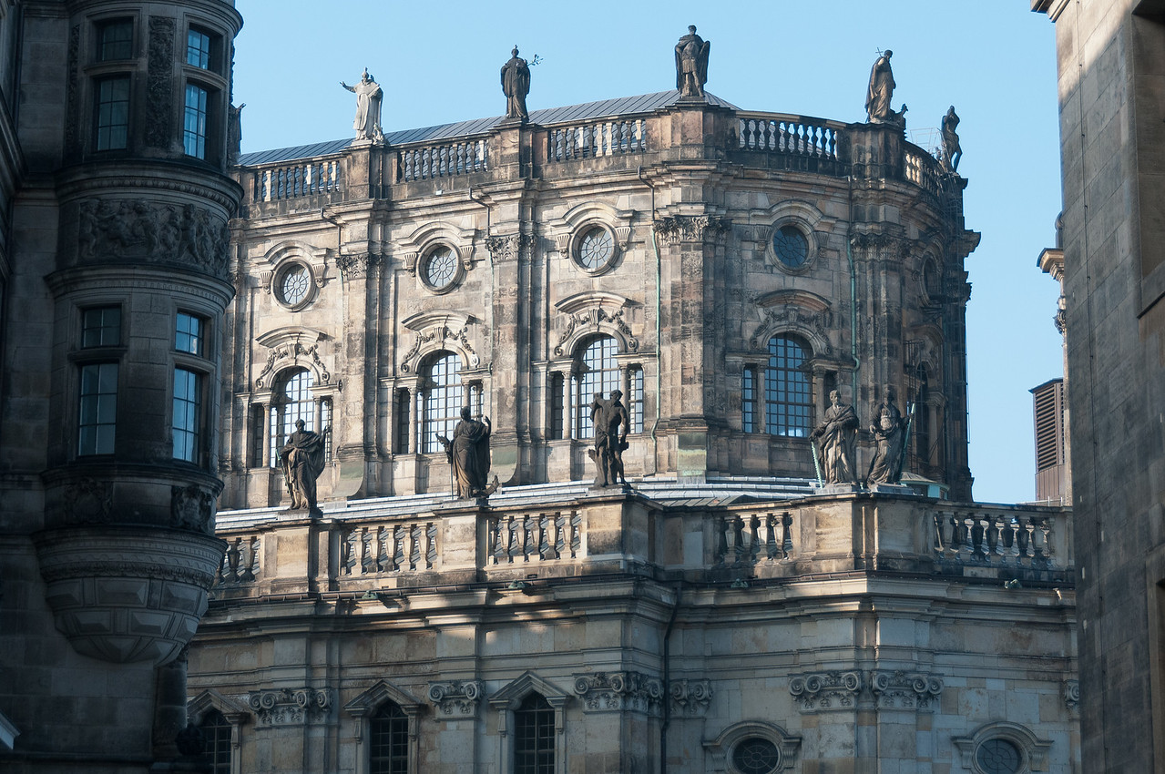 Hofkirche Cathedral in Dresden, Germany
