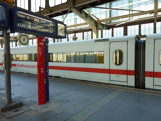 ICE Train at Duisburg - Germany