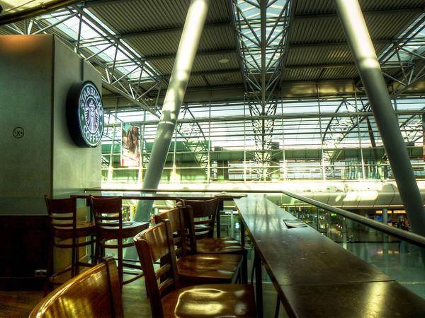 starbucks dusseldorf airport