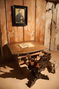 A room inside Wartburg castle in Eisenach, Germany