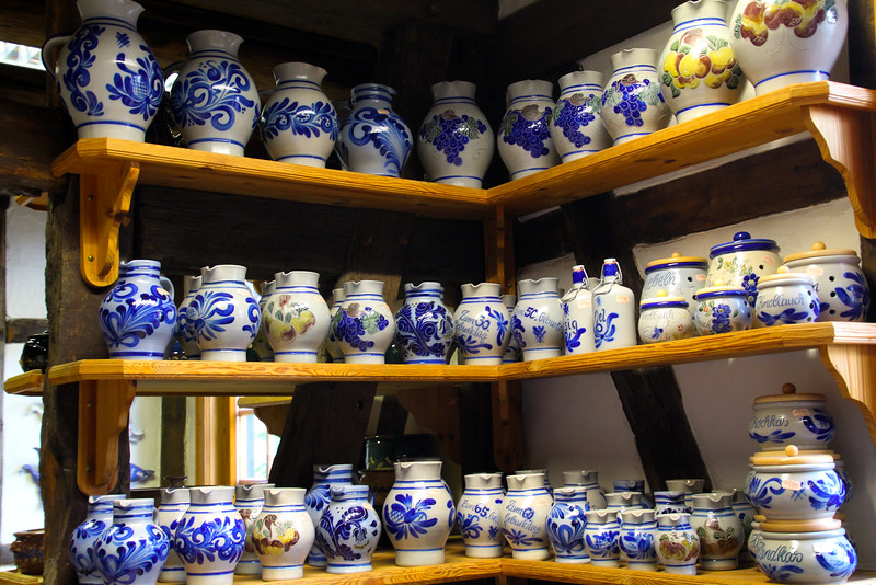 Erbach Germany,  Pottery Factory