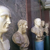 Erbach Germany, Castle Roman Bust Display